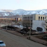13.05.2009. Вид из окна налево, Вилючинск