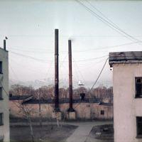 Вид из окна кв.25, д.4, ул.Мира, год 1970, Вилючинск