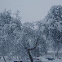 Выпал снег, Вилючинск