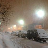 19.03.2013. Вечер, снегопад., Вилючинск