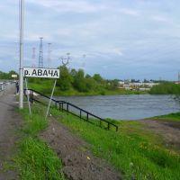 Река Авача. Елизово. Камчатка, Елизово