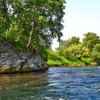крутые берега Малкинской реки, Большерецк