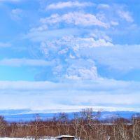 Извержение вулкана Шивелуч, Ключи