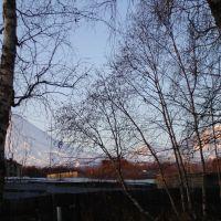 Вид на вулкан из гостиницы, Ключи