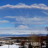 Извержение Шивелуча, Ключи