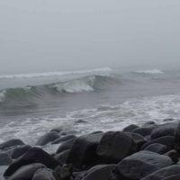 Остров Беринга. Тихий океан штормит., Никольское