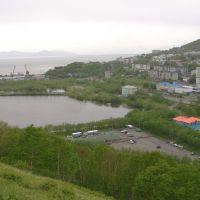 Петропавловск-Камчатский. Вид на краешек озера Култучного., Петропавловск-Камчатский