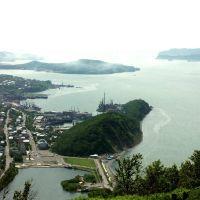 Вид на бухту Авачинская, Петропавловск-Камчатский