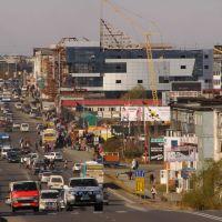 Петропавловск-Камчатский. Строится торгово-развлекательный комплекс, Петропавловск-Камчатский