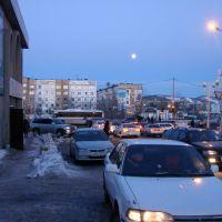 Петропавловск-Камчатский. Субботний зимний вечер., Петропавловск-Камчатский