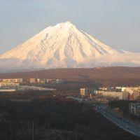 вулкан Корякская сопка-Koryak volcano, Петропавловск-Камчатский