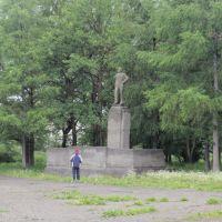 на площади Ленина, Тигиль