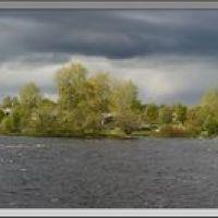 panorama of Lower Vig river, Беломорск