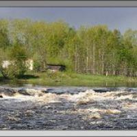 Panorama of Lower Vig river (1) р. Нижний Выг, Беломорск
