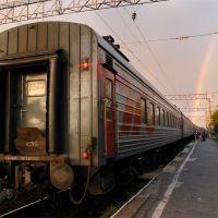перрон Беломорского вокзала, Беломорск