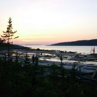 Белое море, Закат на Кенострове, Вирандозеро