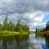 Olova River - Река Олова, Вирандозеро