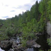 русло реки Суна, Гирвас