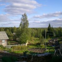 Летом на даче, Деревянка