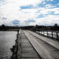 Идель. Деревянный мост., Идель