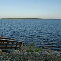 На берегу озера Среднее Куйто - On a shore of Srednee Kuyto lake, Калевала