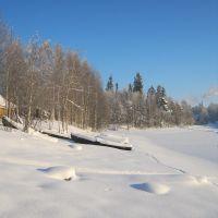 Kalevala. Lake Kuito., Калевала