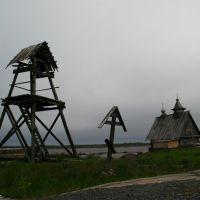 """после съёмок """"Острова"""", Кемь"""