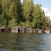 Ладожское озеро близ Лахденпохья. Lake Ladoga, near Lahdenpohja, Лахденпохья