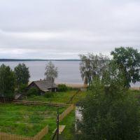 Вид на озеро с 5 этажа, Медвежьегорск