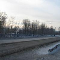Медвежьегорск_ мост на ул.Советской, Медвежьегорск