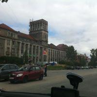 Медгора. Центральная площадь, Медвежьегорск