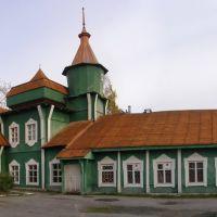 """Красивый вокзал """"Медвежья гора"""", Медвежьегорск"""