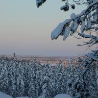 Luminen maisema, Муезерский