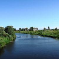 Река Мегрега. н.п.Олонец. Июль 2008 года., Олонец