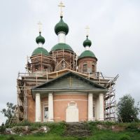 The orthodox cathedral of Olonets (Aunuksenkaupunki), Олонец