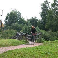 Олонец-город деревянных мостов и велосипедов, Олонец