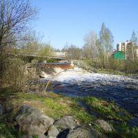 Водопад на Лососинке, Петрозаводск