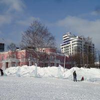 Выставка ледяных скульптур, Петрозаводск
