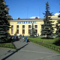 Petrozavodsk Station - View from Train Window, Петрозаводск