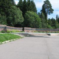 Питкяранта. Воинский мемориал (WW II memorial in Pitkyaranta), Питкяранта