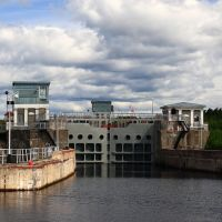 The White Sea-Baltic Canal lock, Повенец