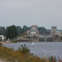 Third lock - Belomorkanal, Повенец