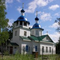 Pudozh new church, Пудож