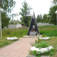 monument to Soviet army in Afganistan, Сегежа