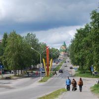 Sovetov Boulevard, Сегежа