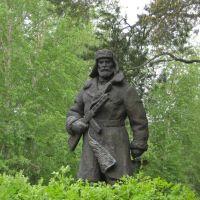 Памятник карельским партизанам - Karelian partisans monument, Сегежа