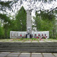 Братская могила - WW2 memorial, Bed of honor, Сегежа
