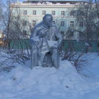 Lenin in Segezha, Сегежа