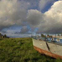 Вид с берега р.Софьянги в Софпороге, Софпорог