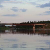 Железнодорожный мост близ Топозера., Софпорог